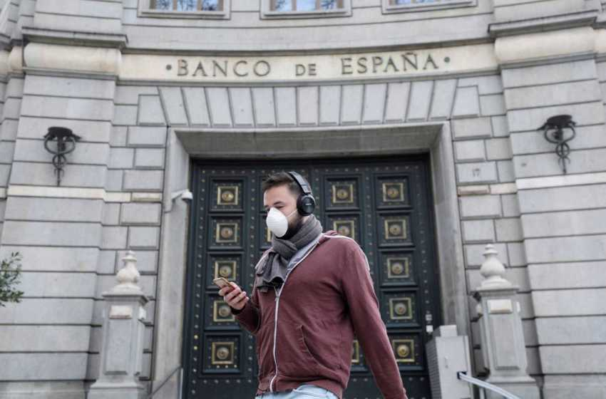 El Banco de España prevé una contracción económica de hasta el 15 % este año