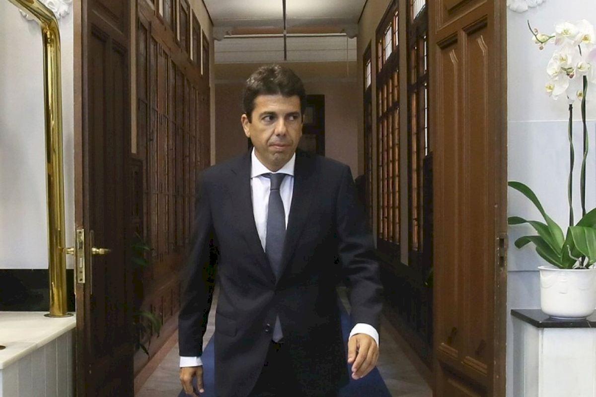"""Carlos Mazón en El Intercafé: """"Cantó podría sumar en el proyecto del PPCV, pero mi apuesta para Valencia es Catalá"""""""