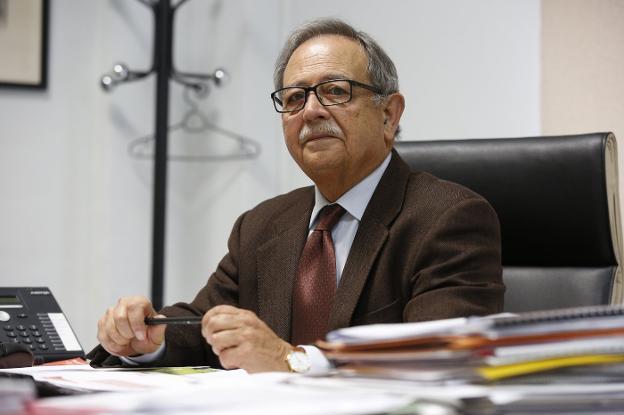 """Francisco Zamora en El Intercafé: """"El sector de la construcción valenciano ha presentado varios proyectos porque está altamente preparado"""""""