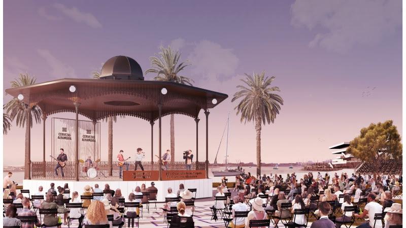 Así serán los Conciertos de la Pèrgola de Cervezas Alhambra en La Marina de València este verano