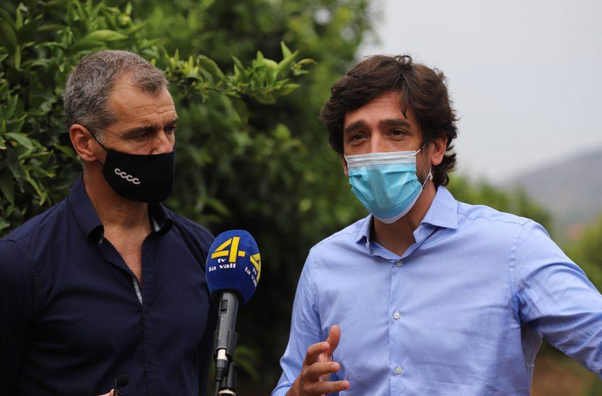 Ciudadanos propone un plan para modernizar la agricultura, fortalecerla en el exterior y luchar contra las plagas