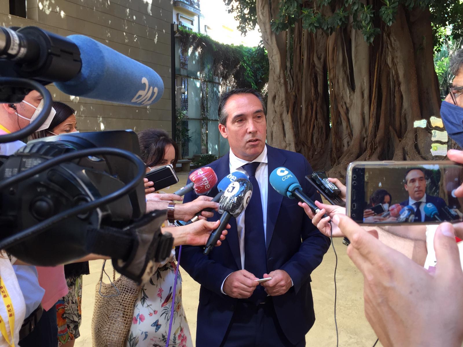 Ibáñez denuncia que la Comunitat Valenciana pierde 1.140 millones en el reparto de los Fondos Covid