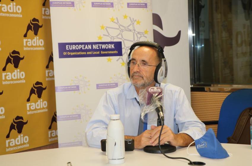 """Bartolomé Nofuentes en El Intercafé: """"Estamos en el momento de crear una gobernanza multinivel para optar a los fondos europeos y preparar el periodo 2021-2027"""""""