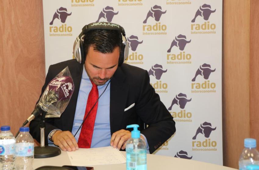 """Carlos Primo en El Intercafé: """"Los ayuntamientos necesitan recibir información certeza para ejecutar con garantías sus inversiones en estos momentos de crisis"""""""