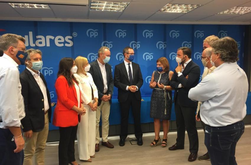El GPP en el Senado constituye el grupo territorial valenciano que presidirá Alberto Fabra
