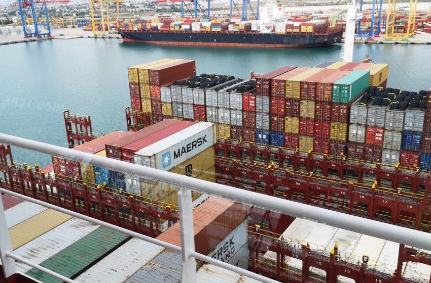 Valenciaport gestiona en agosto 503.482 contenedores y registra su mejor mes de la historia