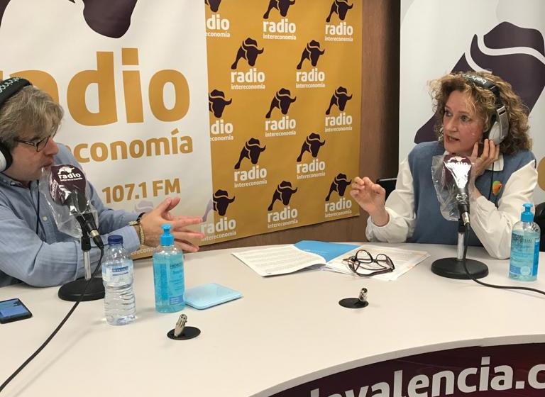 """Amparo Folgado (PP Torrent) en El Intercafé: """"La ley Celaá trata de dividir a la sociedad y constriñe la libertad de los padres"""""""