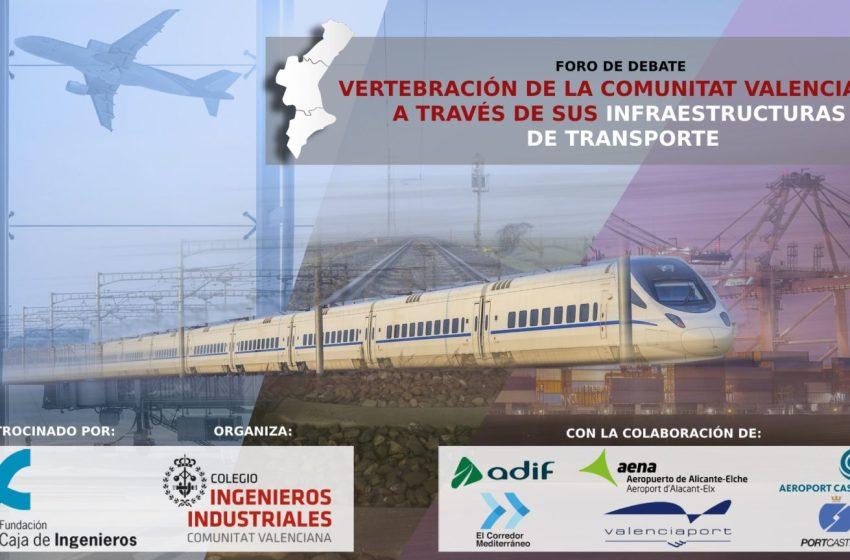 Intereconomía Valencia retransmitirá en directo el foro de debate del COIICV que analiza el estado de las infraestructuras de la Comunitat Valenciana