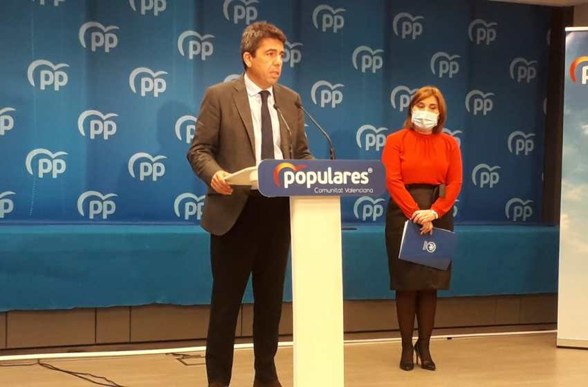 """Carlos Mazón: """"Puig debe rendir menos pleitesía a los independentistas catalanes y bajar más a Murcia para defender el trasvase Tajo-Segura tan necesario para nuestra tierra"""""""