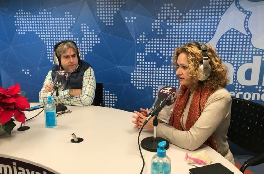 """Amparo Folgado en El Intercafé: """"La incidencia de contagios en las aulas crece a partir de ESO y Bachiller"""""""