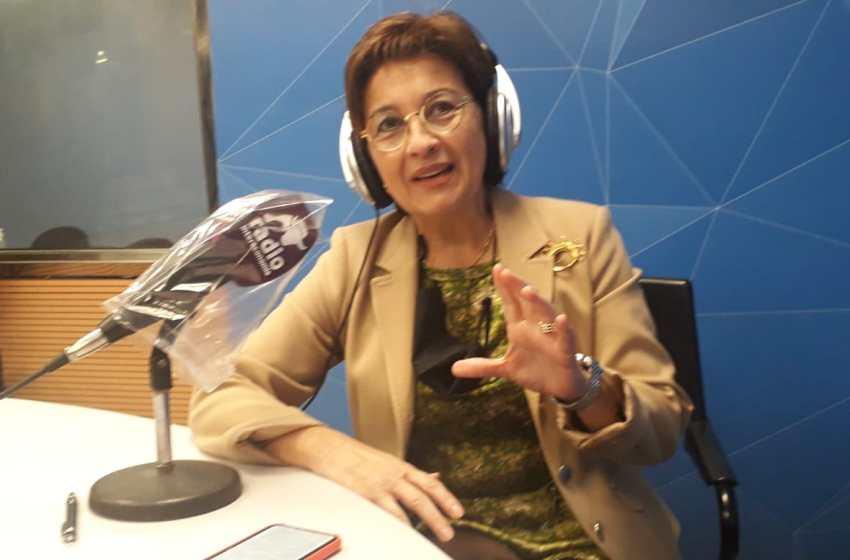 """Blanca Marín, directora general del aeropuerto de Castellón: """"Tenemos capacidad y queremos ser tractores de un clúster aeronáutico en la Comunitat"""""""