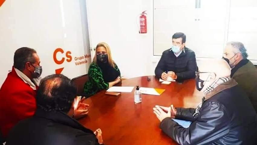Ciudadanos pide convocar la comisión de seguimiento Fallas Unesco
