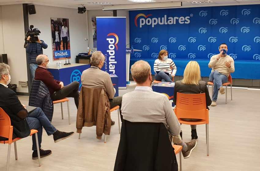 Bonig reclama a Puig y Oltra impulsar el cambio de modelo de financiación y el pago de la deuda histórica a la Comunitat Valenciana