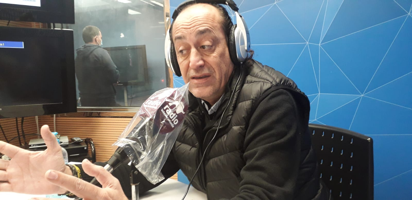 """Vicente Montañez en El Intercafé: """"No hay que olvidar que el ayuntamiento de Valencia ha estado muchos años de perfil acerca de la ATE del VCF"""""""