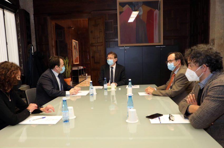 Ximo Puig anuncia la puesta en marcha de las primeras ayudas del Plan Resiste, que facilita préstamos del IVF con tramos no reembolsables de hasta el 30%