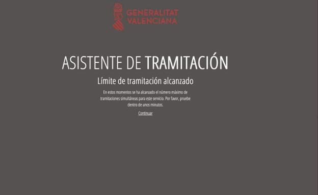 La web de Labora se colapsa en el inicio del registro para solicitar las ayudas de autónomos