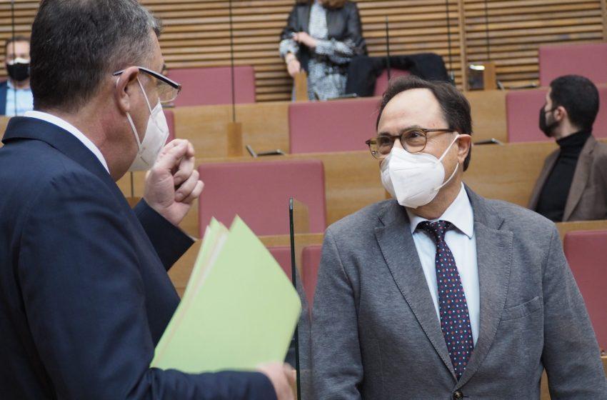 Vicent Soler presenta las 'Ayudas Paréntesis' dotadas con 160 millones para la reactivación del tejido productivo de los municipios valencianos
