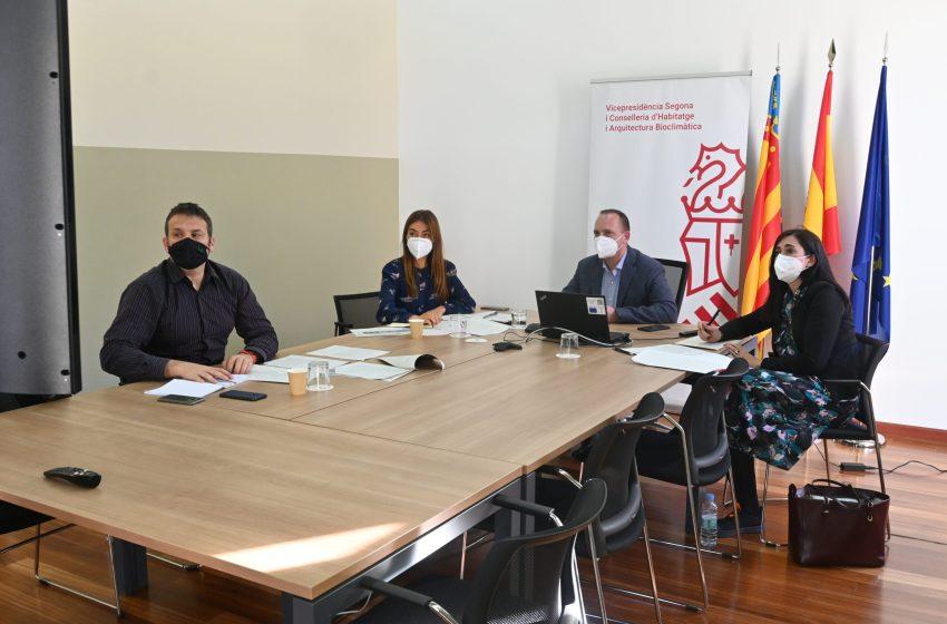 """Martínez Dalmau: """"Nuestra prioridad es acelerar la llegada de fondos europeos para garantizar el derecho a la vivienda digna"""""""