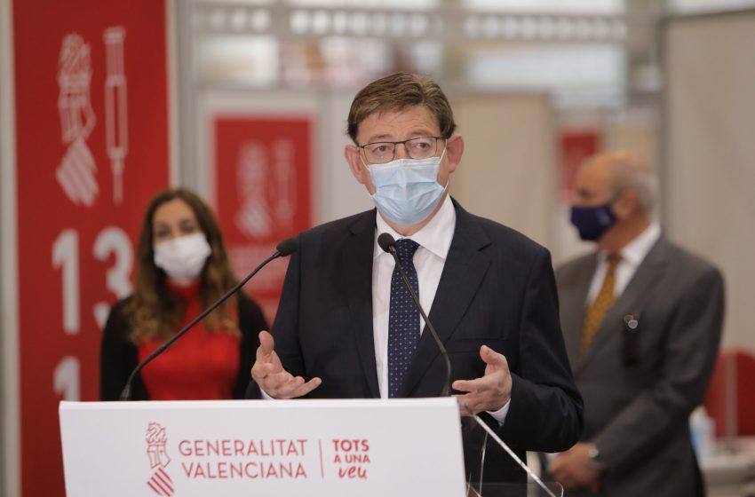 Ximo Puig destaca que el plan GEN Digital 2025 invertirá 1.000 millones de euros en la transformación digital