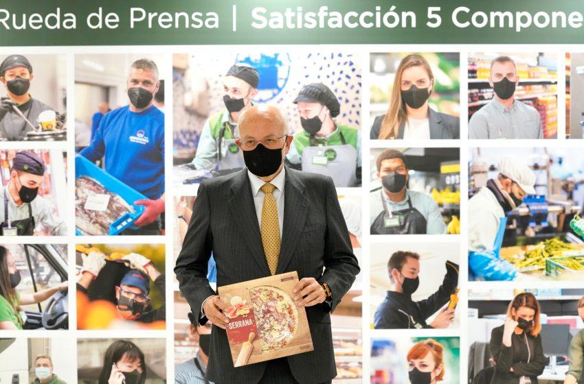 Mercadona vende un 5,5% más en 2020, factura 27.000 millones y 176 por ventas on-line con un beneficio de 727 millones de euros