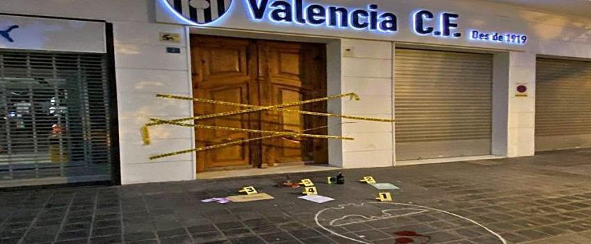 """""""Parece que en las oficinas del Valencia CF se ha intentado cometer un crimen"""""""