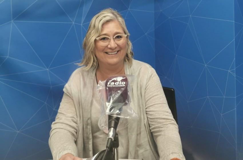"""Mamen Peris en El Intercafé: """"Los tres partidos del Botànic están marcando sus líneas políticas en los presupuestos por un posible adelanto electoral"""""""