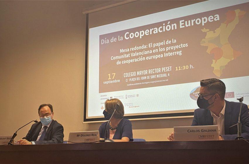"""Soler: """"La Comunitat participa con 64 proyectos Interreg que movilizan recursos por valor de alrededor de 16,8 millones de euros"""""""
