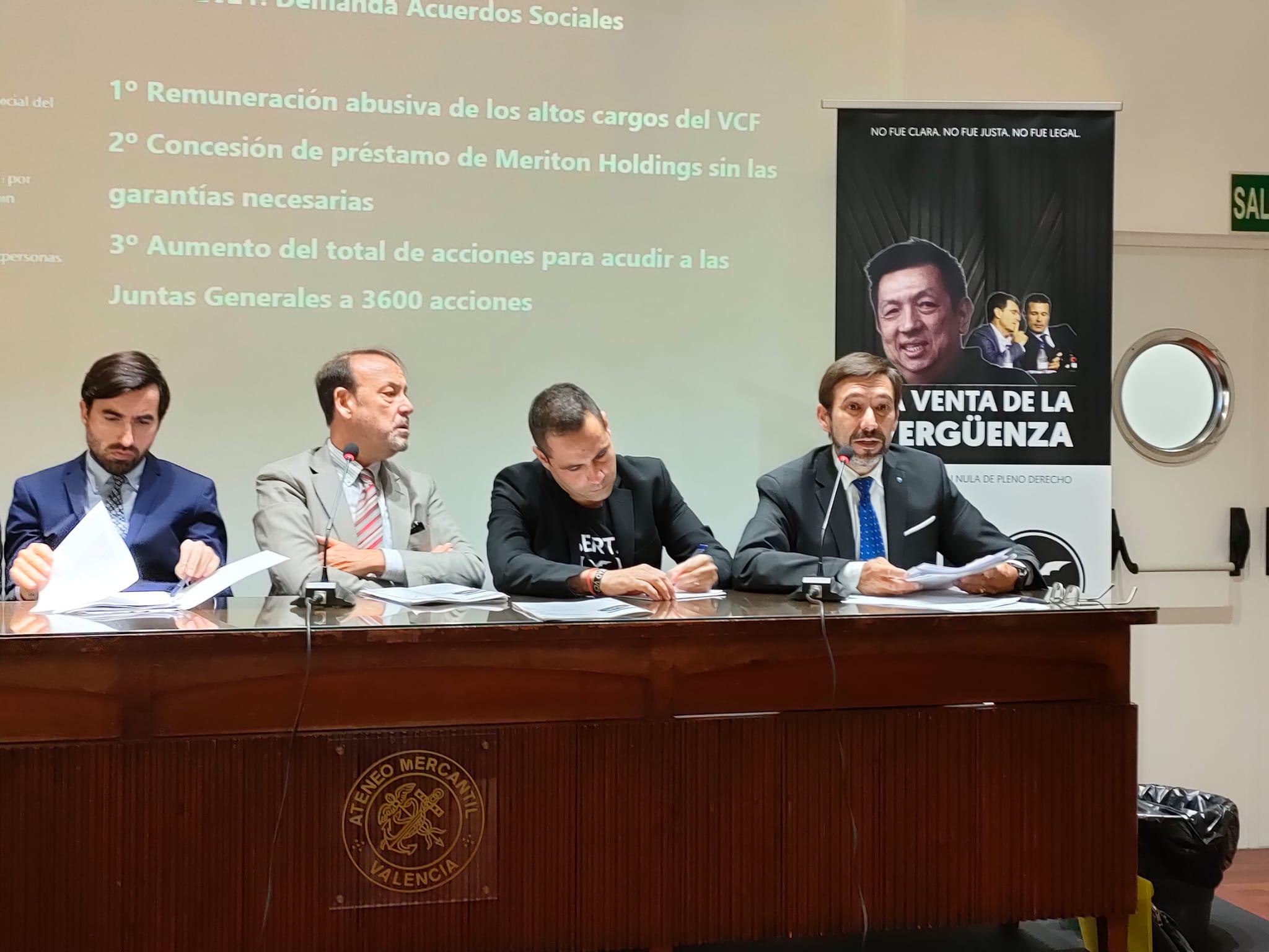 """Libertad VCF: """"Si los valencianistas no actuamos ya la desaparición del club será una realidad"""""""