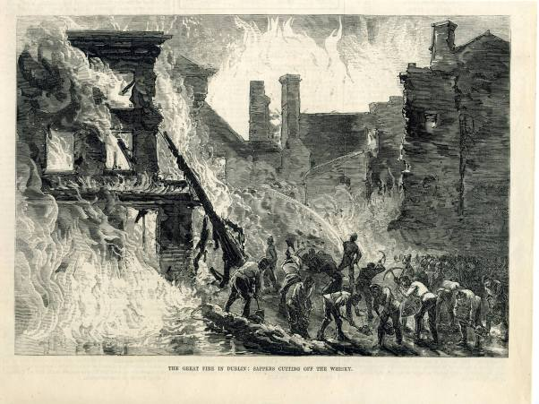 The Great Whiskey Fire of Dublin 1875