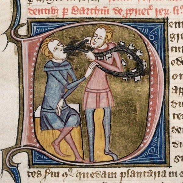 Medieval dentistry manuscript