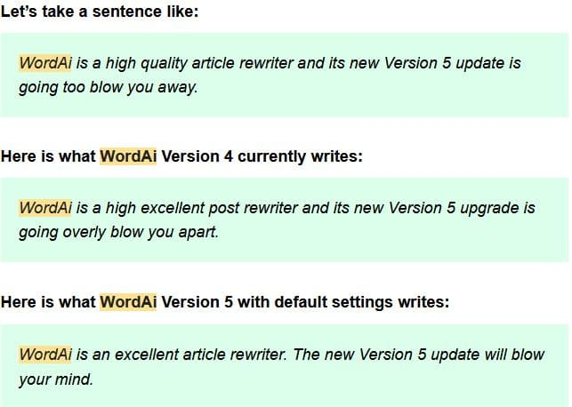 WordAI Version 5 – Why The Word AI Version 5 Release Will Change Content Spinning Forever