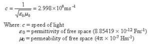 speed of light in mph