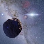 Small telescopes detect missing link in planet evolution
