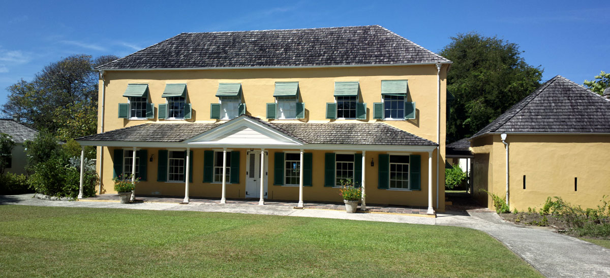 George Washington House in St. Michael, Barbados