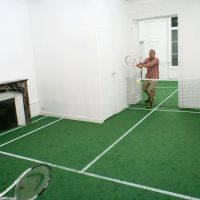 benedetto bufalino // tennis en appartement