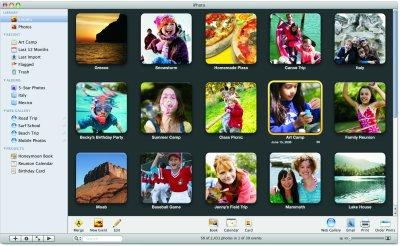 iPhoto 08 - Cortesia da Apple