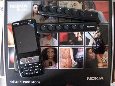 N73 Music Edition + Caixas MD-4