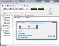 Transferindo arquivos do gravador no Vista