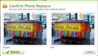 Substituindo uma imagem do Flickr