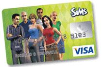 Sims Visa Card