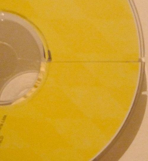 Outro detalhe do CD