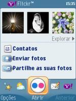 Flickr no bolso