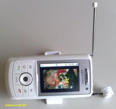 Samsung SGH-V805, o celular com TV Digital