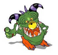 Um monstro da Monster