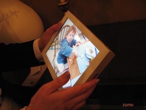 Philips: porta-retrato touchscreen