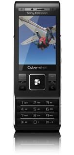 Sony Ericsson C905: de frente, aberto