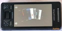 X-Panels do Xperia X1 (organizados em leque)