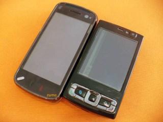 N97 ao lado do N95