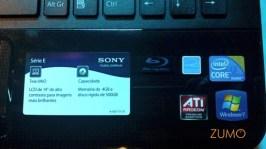 Placa ATI no modelo com Blu-ray