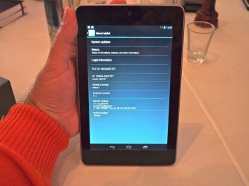 Google Nexus 7 já roda Android 4.1
